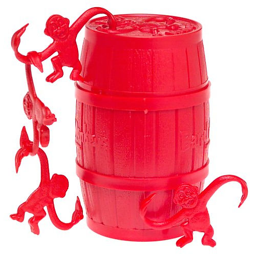 red barrel of monkeys